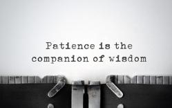 Patient trust…
