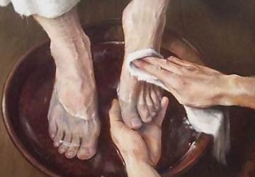 Holy week – Foot washing?