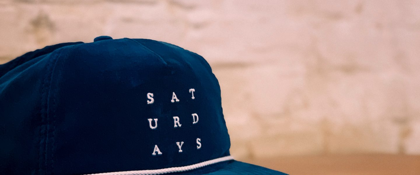 In between the now and the not yet: Don't be afraid of Saturday